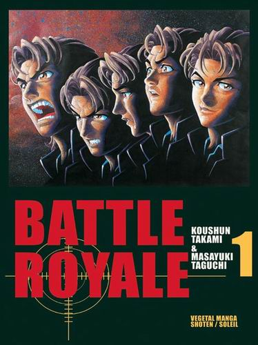 Manga Battle Royale d'occasion à vendre
