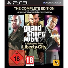 Jeu Grand Theft Auto IV & Episodes from Liberty City pour PS3