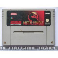 Jeu Mortal Kombat pour Super Nintendo