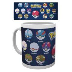 Mug Pokémon Pokeball Varieties