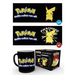Mug Thermo réactif Pokemon Pikachu