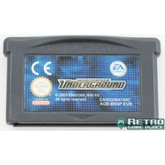 Jeu Need For Speed Underground pour Game Boy Advance