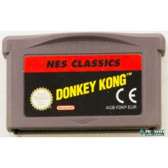 Jeu Nes Classic Donkey kong pour Game Boy advance