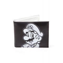 Nintendo - Portefeuille- Super Mario Noir et Blanc