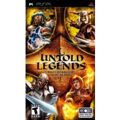 Untold Legends confrerie de l'epee