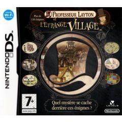 Jeu Professeur Layton et l'étrange Village pour Nintendo DS