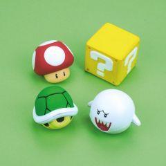 Set de 4 boules antistress Mario