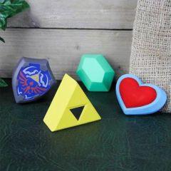Set de 4 boules antistress Zelda