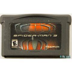 Jeu Spider-man 3 pour Game Boy advance