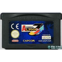 Jeu Street Fighter Alpha 3 pour Game Boy Advance