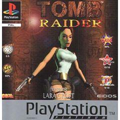 Jeu Tomb Raider Platinum pour Playstation