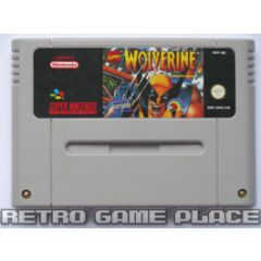 Jeu Wolverine : Adamantium Rage pour Super Nintendo