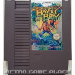 The Adventure of Bayou Billy Nintendo NES
