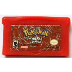 Jeu Pokemon Version Rouge Feu pour Game Boy Advance
