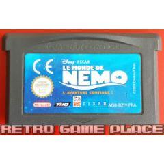 Jeu le monde de Nemo pour Game Boy Advance