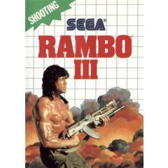 Rambo 3 Master System