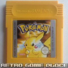 Pokemon Version Jaune pour Game Boy