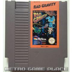 The Adventure of Rad Gravity Nintendo NES
