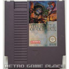 The Battle of Olympus Nintendo NES