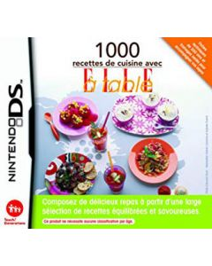 Jeu 1000 recettes de cusine avec ELLE à table pour Nintendo DS