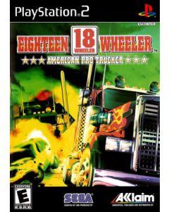 Jeu 18 Wheeler American Pro Trucker pour Playstation 2