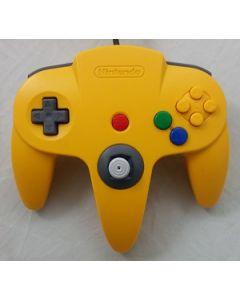 Manette officielle Nintendo 64 Jaune