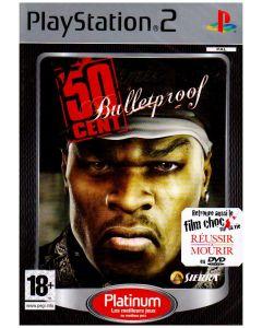 Jeu 50 cent bulletproof Platinum pour Playstation 2
