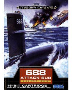 Jeu 688 Attack Sub pour Megadrive