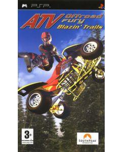 Jeu ATV OffRoad Fury Blazin Trails pour PSP