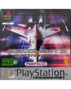 Jeu Ace Combat 3 platinum pour Playstation