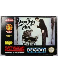 Jeu Addams Family Values pour Super Nintendo