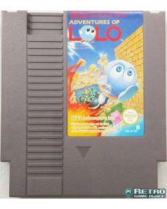Jeu Adventures of Lolo pour Nintendo NES