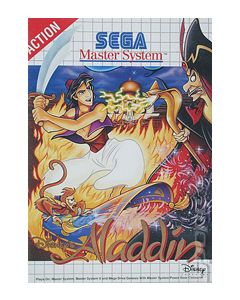 Jeu Aladdin pour Master System