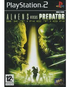 Jeu Aliens versus Predator Extinction pour Playstation 2