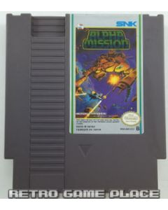Jeu Alpha Mission pour NES