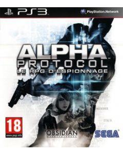 Jeu Alpha Protocol pour PS3