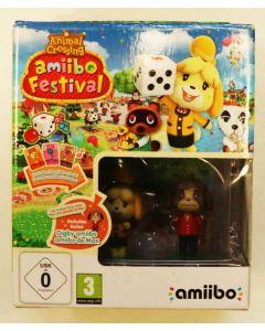 Jeu Animal Crossing + Amiibo en boîte pour WiiU