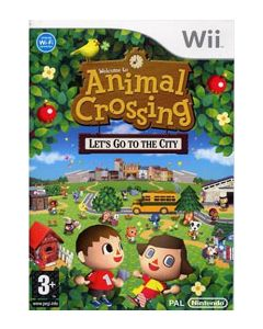 Jeu Animal Crossing Let's go to the City pour Wii
