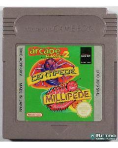 Jeu Arcade Classic 2 Centipede Millipede pour Game Boy