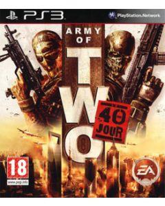 Jeu Army of Two - Le 40ème Jour pour PS3