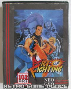 Jeu Art of Fighting pour Neo Geo AES