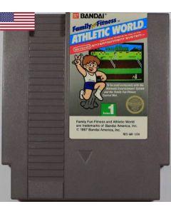 Jeu Athletic World pour Nintendo NES