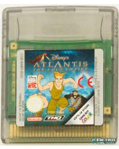Jeu Atlantis the lost empire pour Game boy color