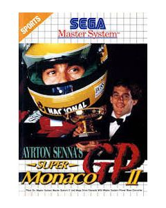 Jeu Ayrton Senna's Super Monaco GP II pour Master System