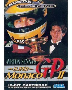 Jeu Ayrton Senna Super Monaco Gp 2 pour Megadrive