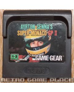 Jeu Ayrton Senna's Super Moncao GP II pour Game Gear