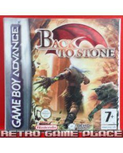 Jeu Back to Stone pour Game Boy advance