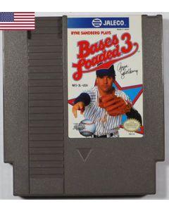 Jeu Bases Loaded 3 (US) pour Nintendo NES