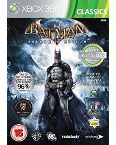 Jeu Batman Arkham Asylum Classics pour Xbox 360