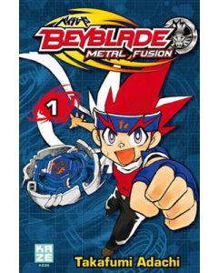 Manga Beyblade Metal Fusion tome 01